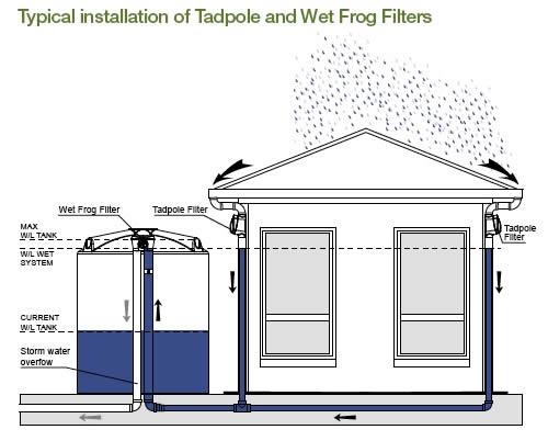 Come riciclare l'acqua piovana e riutilizzarla per la casa ...