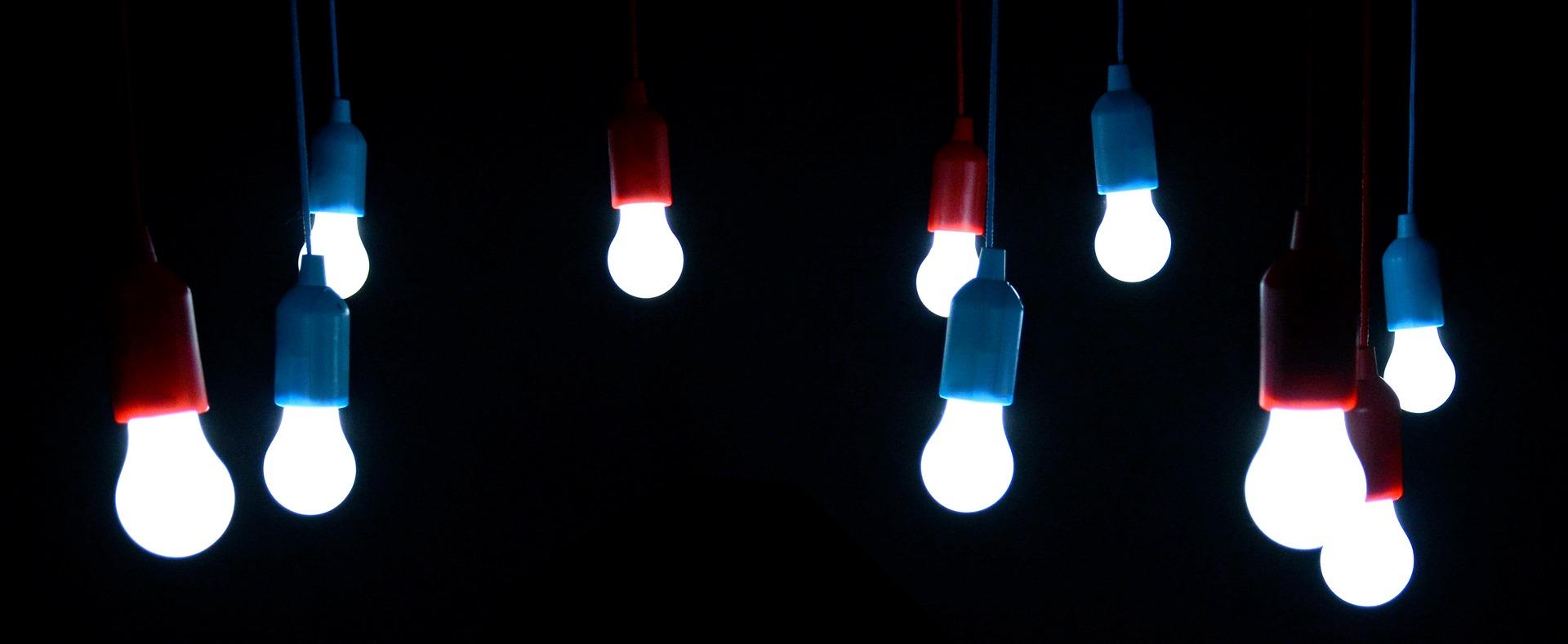 Differenze tra lampade LED e a basso consumo